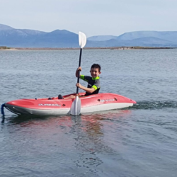 Cayaking on Mulranny Strand