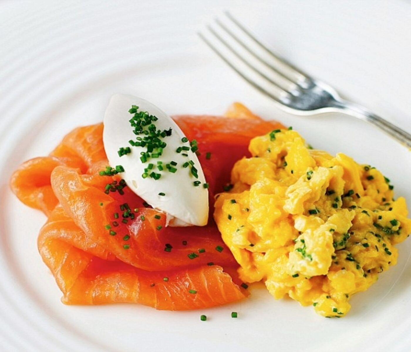 Smoked Salmon and Scrambled Eggs Bed and Breakfast Ireland